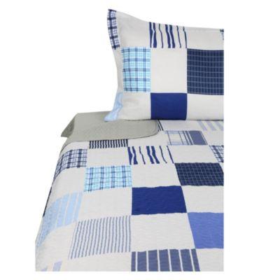 Quilt + sábana patch 1.5 plazas