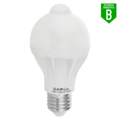 Foco LED Bulbo A60 9W E27 Luz Amarilla