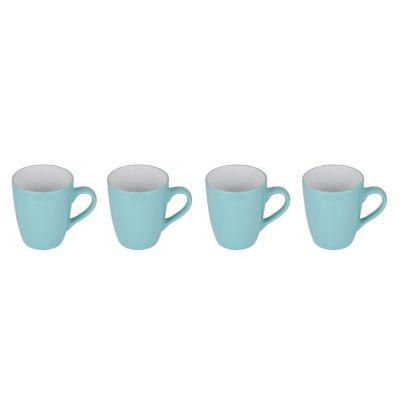 Set de 4 mugs azules