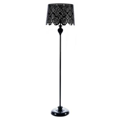 Lámpara de Pie Georgina Negro 1 Luz E14