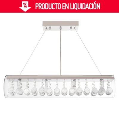 Lámpara colgante Janice 4 luces