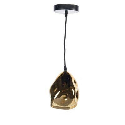 Lámpara Colgante Amie Dorado 1 Luz E27