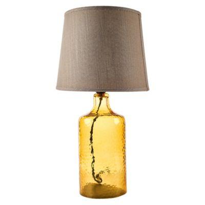 Lámpara de mesa Eloise Ocre