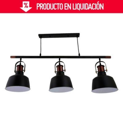 Lámpara colgante Francis 3 luces