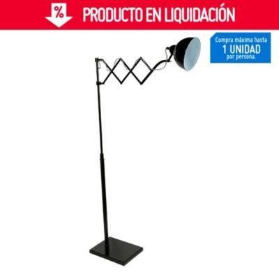 Lámpara de Pie Joseph Negro 1 Luz E14