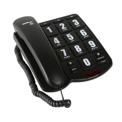 Teléfono Intelbras Negro Tok Fácil