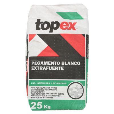 Pegamento para Cerámicas o Porcelanatos Extrafuerte 25 kg Blanco
