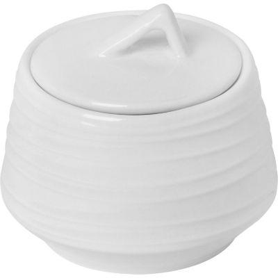 Azucarero Ring blanco 10cm