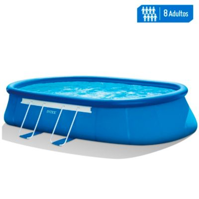 Piscina inflable ovalada Frame 6.10x3.66x1.22m