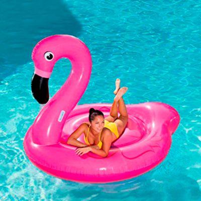 Flamingo inflable extra jumbo