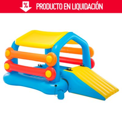 Isla inflable para piscinas
