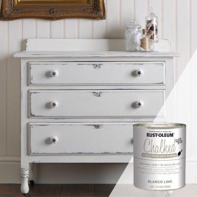 Pintura Tizada Ultra Mate Chalked Brochable Blanco Lino 0,887L