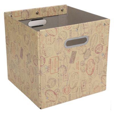 Caja de papel Viajes