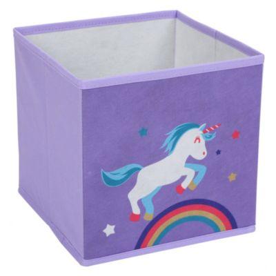 Caja de tela Unicornio