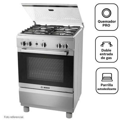 Cocina a gas 4 quemadores PRO445 IX