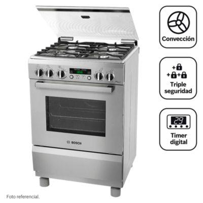 Cocina a gas 4 quemadores PRO467