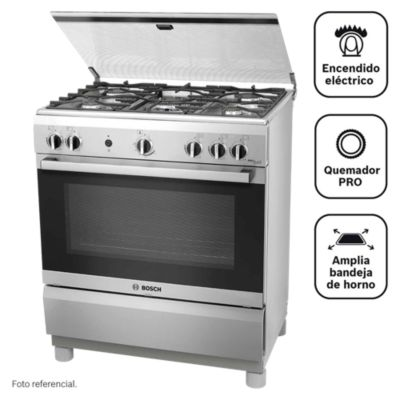 Cocina a gas 5 quemadores PRO545