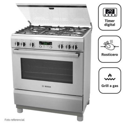 Cocina a gas 5 quemadores PRO565