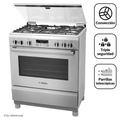 Cocina a gas 5 quemadores PRO567