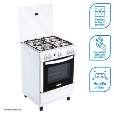 Cocina a gas 4 quemadores CX620
