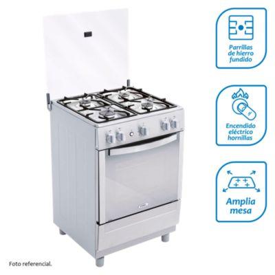 Cocina a gas 4 quemadores CX621