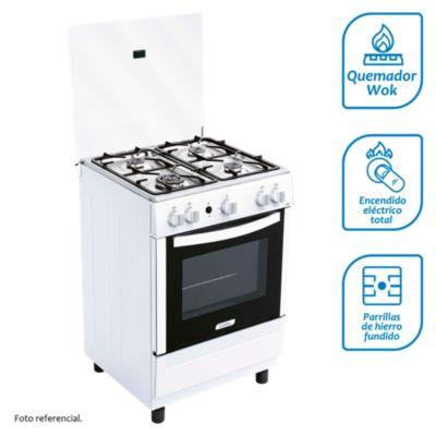 Cocina a gas 4 quemadores CX 650