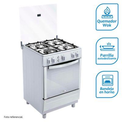 Cocina a gas 4 quemadores CX651