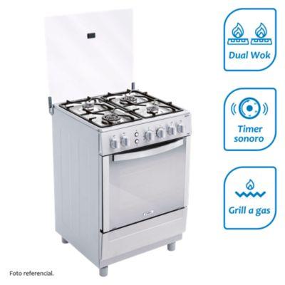 Cocina a gas 4 quemadores CX 681