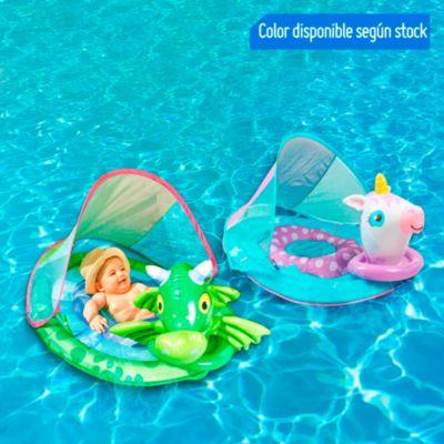 Flotador de bebe con techo