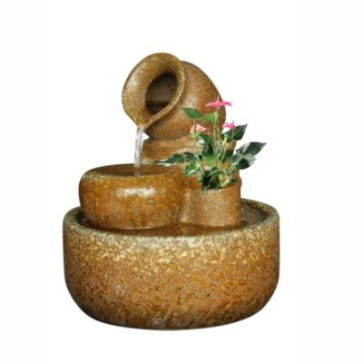 Fuente de agua exterior Vasijas