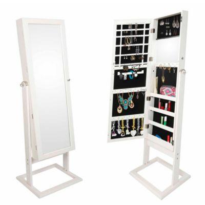 Espejo Joyero Blanco 120x37cm