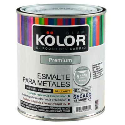 Esmalte para Metales Negro 1 L