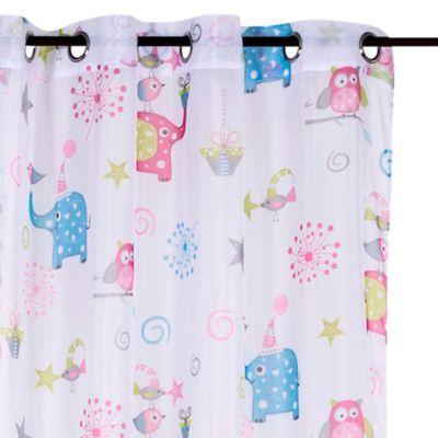 Cortina Velo Elefantes 135x220