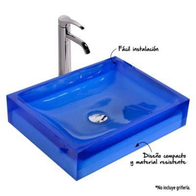 Vanitorio 12x50x40 cm Azul