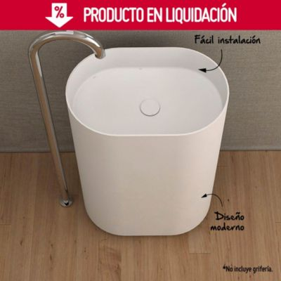 Vanitorio 58x38x90 cm Blanco