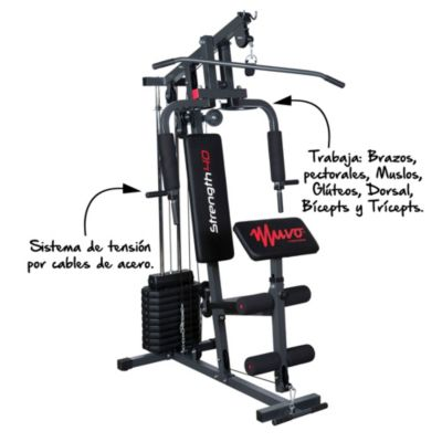 Gimnasio Home Gym Strength 40
