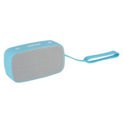 Parlante Mini Bluetooth Celeste