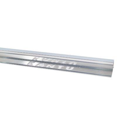 Perfil Cuadrado de Aluminio Mate 12.5m