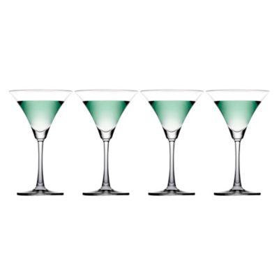 Set de 4 Copas Martini 10 Oz