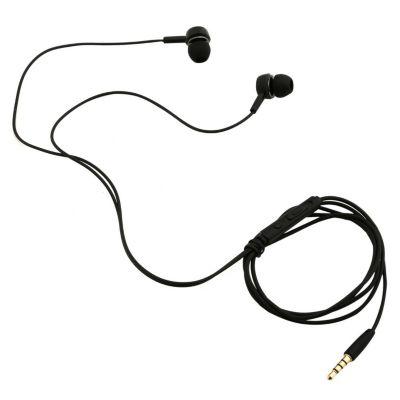 Audífonos EP-12 con Micrófono Negro
