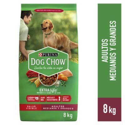 Dog Chow Adultos Medianos y Grandes 8kg