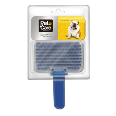 Set cepillo groomer para perro