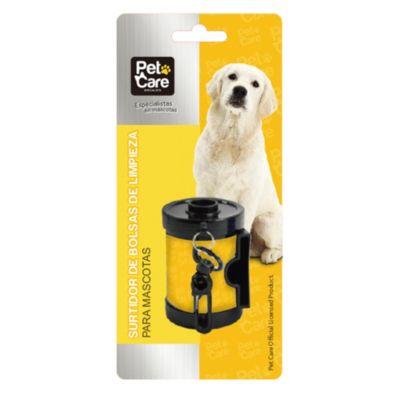 Surtidor de bolsas limpias para mascotas