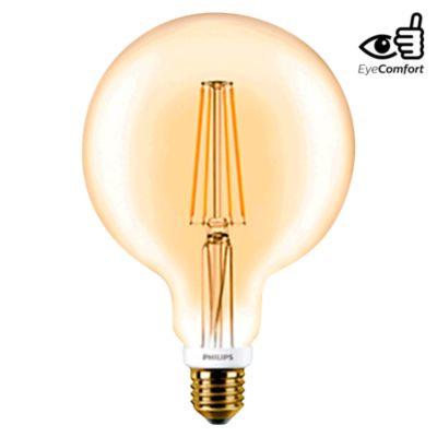 Foco LED Vintage Globo E27 7W Luz Amarilla