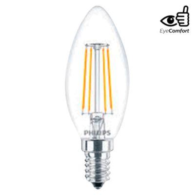 Foco LED Vintage Globo E14 4W Luz Amarilla