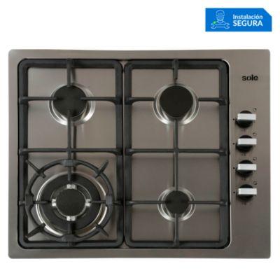 Cocina empotrable 4 quemadores SOLCO036