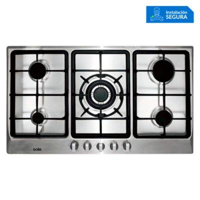 Cocina Empotrable a Gas 5 Quemadores SOLCO038
