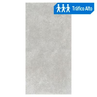 Cerámico Urban Concrete Gris 59x119cm rendimiento: 1.41m2
