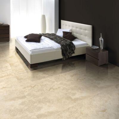 Gres Porcelanico Pandora Smart-tile Beige Marmolizado 59x59cm para piso o pared