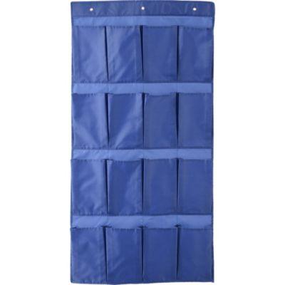 Organizador de Tela 16 bolsillos Azul